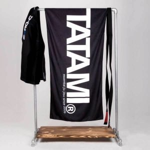 Tatami Beach Towel Black Wash Towel