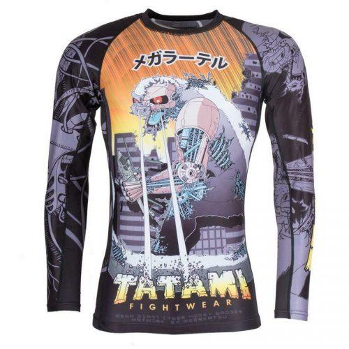 Tatami Cyber Honey Badger Rash Guard