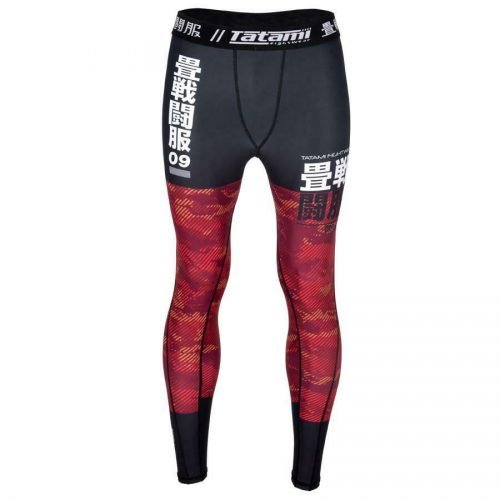 Tatami Essential Camo Spats Red