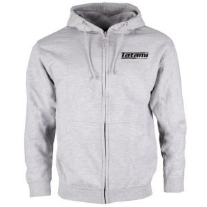 Tatami Basic Zip Up Hoodie Grey