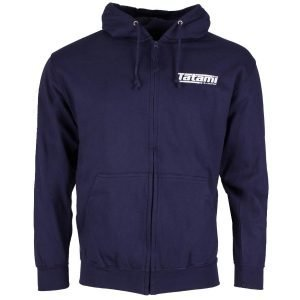 Tatami Basic Zip Up Hoodie Navy