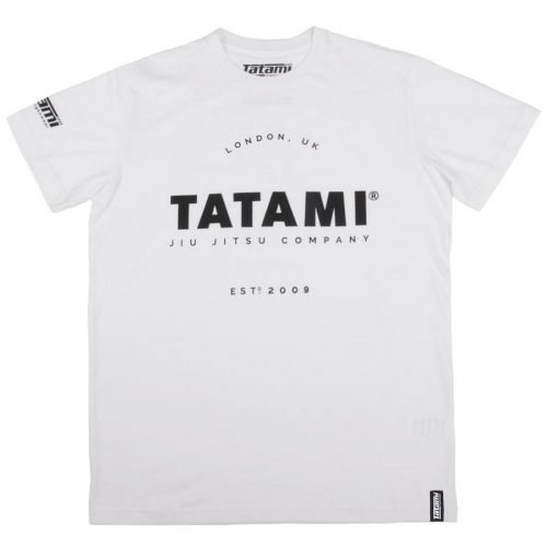 Tatami Jiu-Jitsu Company T-Shirt White - bjj t-shirts