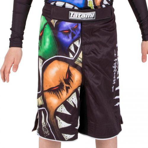 Tatami Kids Monsters Shorts Black