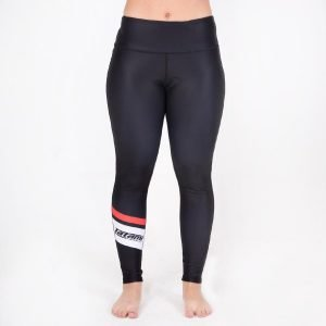 Tatami Ladies High Waist Spats Black White Leggings
