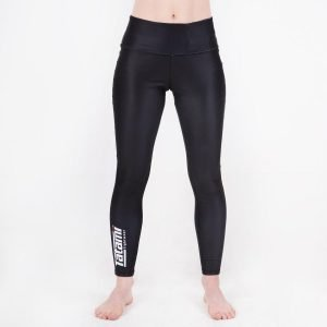 Tatami Ladies High Waist Black Leggings