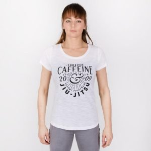 Tatami Ladies Jiu Jitsu Caffiene T-Shirt White