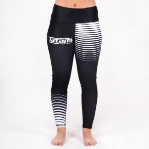 Tatami Ladies High Waist Black White Gradient Leggings