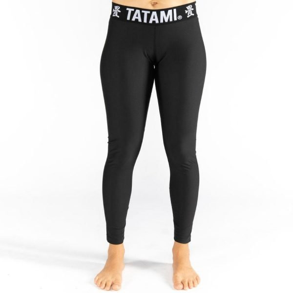 Tatami Ladies Black Minimal Spats