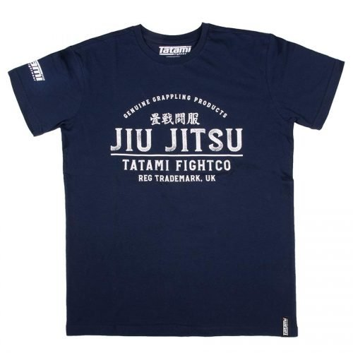 Tatami Stamp T-Shirt Navy