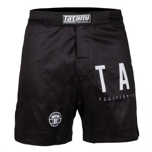 Tatami Preto No Gi Shorts Black - bjj shorts