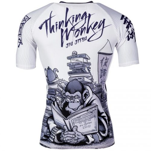 Tatami Thinker Monkey Short Sleeve Rash Guard