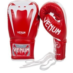 Venum Giant 3.0 Boxing Gloves Nappa Leather Red White
