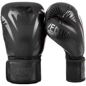 Venum Impact Boxing Gloves Black Black