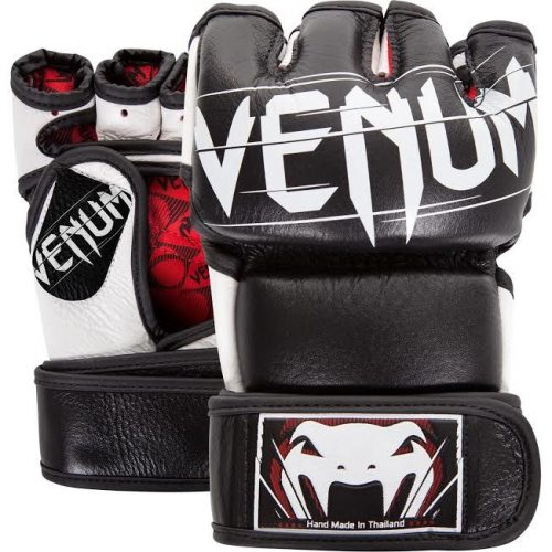 Venum Undisputed 2.0 MMA Gloves Nappa Leather Black