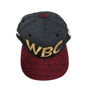 WBC Official Logo Snapback Red Grey