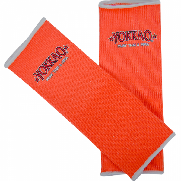 YOKKAO Ankle Guards Neon Orange