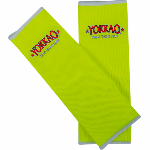 YOKKAO Ankle Guards Neon Yellow