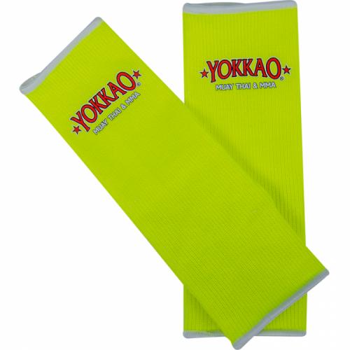 YOKKAO Ankle Guards Neon Yellow