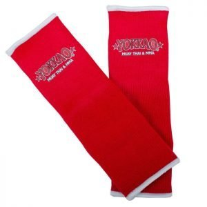 YOKKAO Ankle Guards Red
