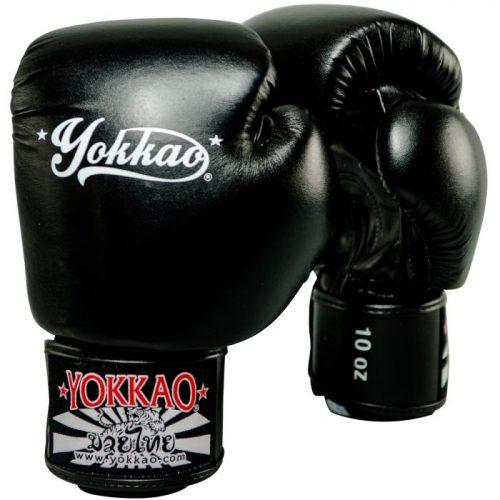 YOKKAO Vertigo Boxing Gloves Black