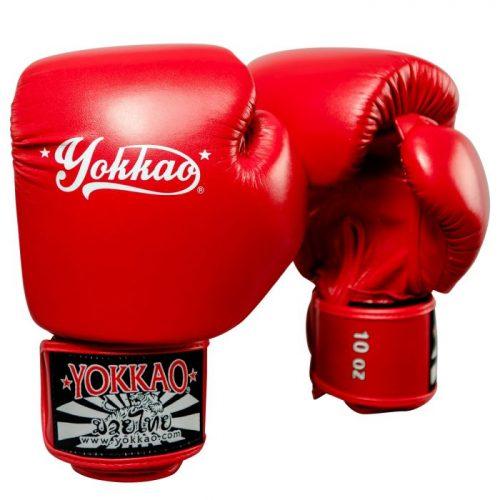 YOKKAO Vertigo Boxing Gloves Red
