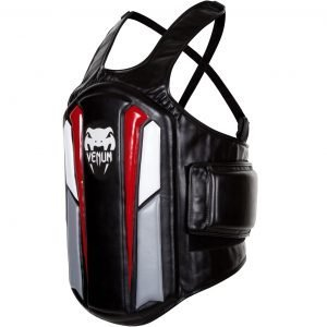 Venum Elite Body Protector Black Ice Red