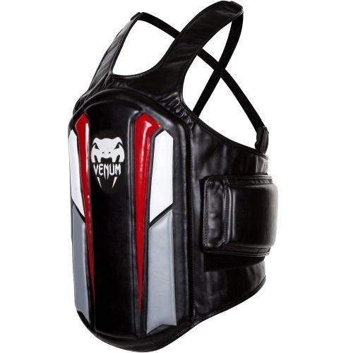 Venum Elite Body Protector Black Ice Red