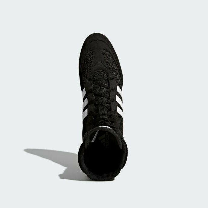 sports shoes 60e16 0a7ad Shop. Home » Products » Adidas Box Hog 2 Boxing Boots Black