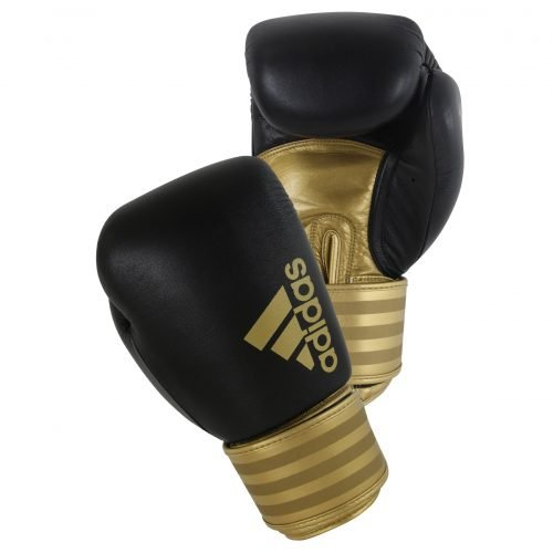 Adidas Hybrid 200 Boxing Gloves Black Gold