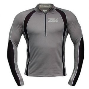 Bad Boy Half Zip Training Top Grey Black