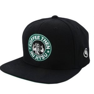 Choke Republic Coffee Then Jiu Jitsu Snapback Black