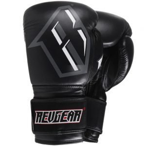 Revgear S3 Boxing Glove Black Grey