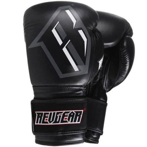Revgear S3 Boxing Glove Black Grey