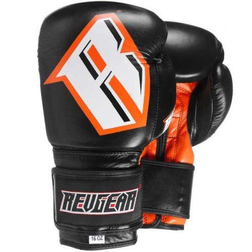 Revgear S3 Boxing Glove Black Orange