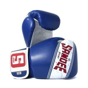 Sandee Sport Boxing Gloves Blue White