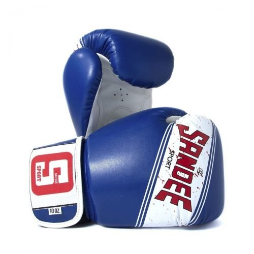 Sandee Sport Boxing Gloves Blue White