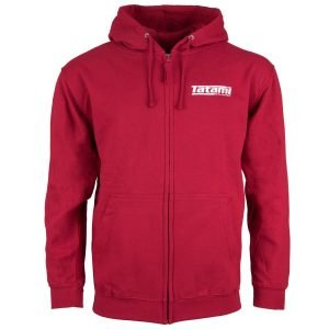 Tatami Basic Zip Up Hoodie Red