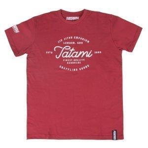 Tatami Original Burgundy Jiu Jitsu T-Shirt