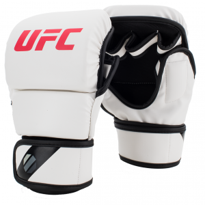 UFC MMA Gloves 8oz White