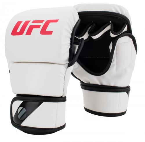 UFC MMA Gloves 8oz White
