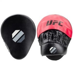 UFC Curved Focus Mitts Black Red