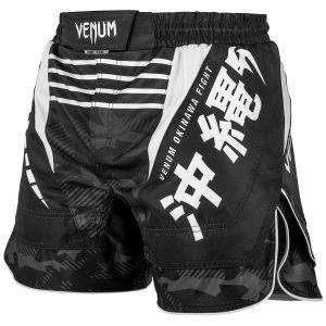 Venum Okinawa 2.0 Fight Shorts White Black