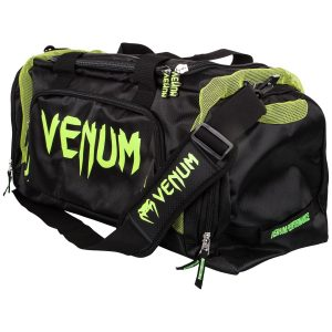 Venum Trainer Lite Sports Bag Black Neo Yellow