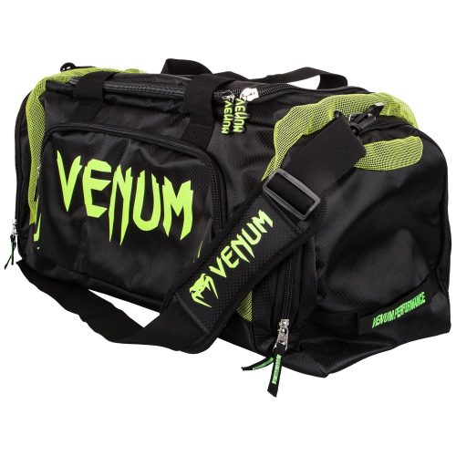 Venum Trainer Lite Sports Bag Black Neo Yellow
