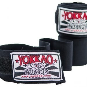 YOKKAO Hand Wraps Black 2.5M Kids