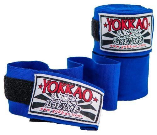 YOKKAO Hand Wraps Blue 2.5M Kids