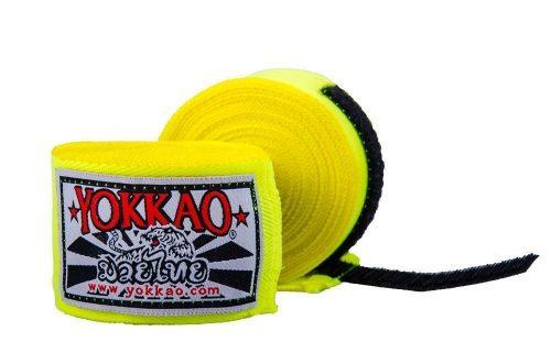 YOKKAO Hand Wraps Yellow 2.5M Kids