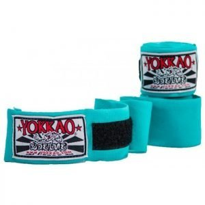 YOKKAO Hand Wraps Sky Blue 2.5M Kids