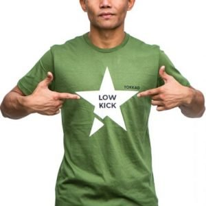 YOKKAO Low Kick T Shirt Green