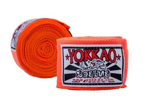 YOKKAO Hand Wraps Orange 2.5M Kids